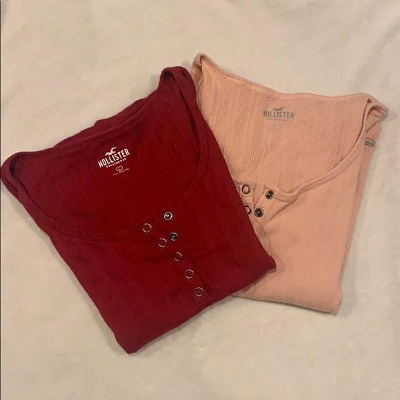 Ribbed Hollister shirt